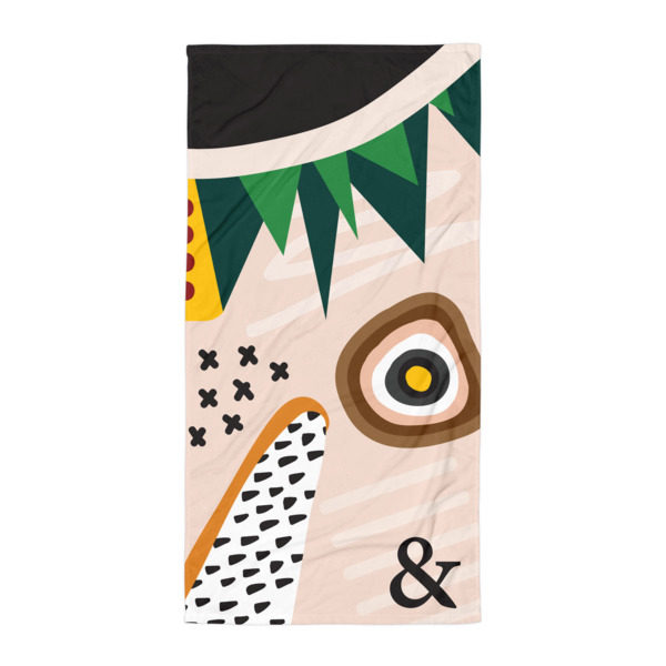 Abstract Sublimation Towel